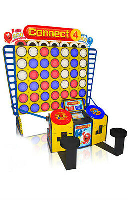Bay Tek Deluxe Connect 4 Redemption Arcade Game