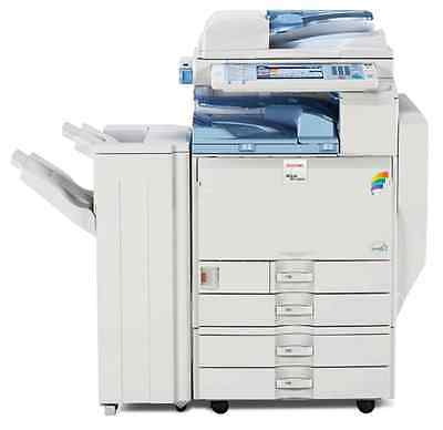 LANIER LD540C Copier, Printer, Scanner & Fax - With Finisher - Clean unit