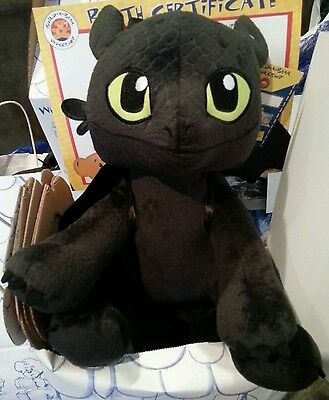 build a bear how to train your dragon meatlug