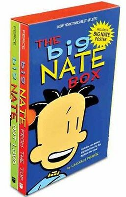 Big Nate Comic Strip 2 Books Collection Pack Set By Lincoln Peirce  From The Top