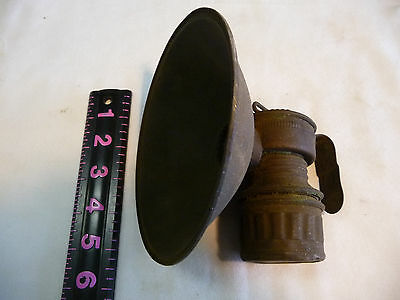 Antique  Coal Miners Carbide Lamp, Made U.S.A., GUY'S DROPPLER