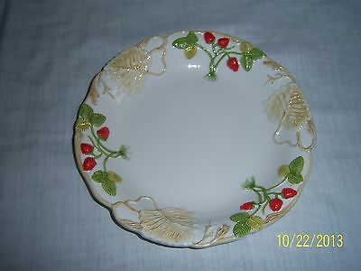 Mottahedeh Strawberry Pattern Serving Bowl