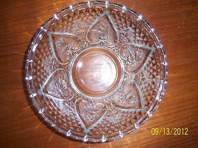 """Vintage """"Kim"""" Glass Bowl From Indonesia"""
