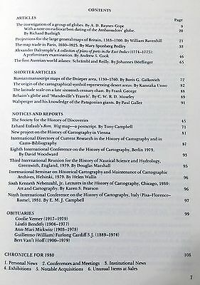 Imago Mundi: Journal of International History of Cartography Vol 33 Maps Atlases