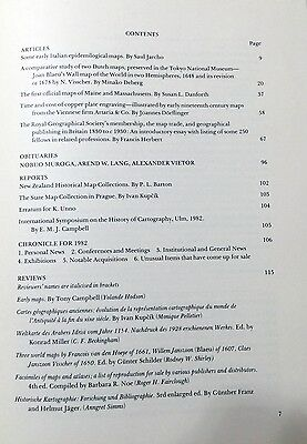 Imago Mundi: Journal of International History of Cartography Vol 35 Maps Atlases