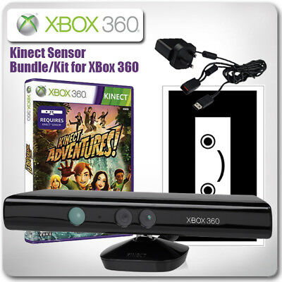 XBox 360 Kinect Sensor Bundle - with Kinect Adventures *in Great Condition*