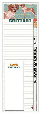 Brittany Notepad & Pencil Gift Set