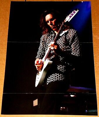 Steve Vai Live With Ibanez Jem Guitar Tribute Poster