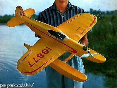 Model Airplane Plans: SURE FUN Sport Floatplane UC for .35 by Vern Clements