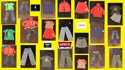 **NWT**HUGE Holiday LOT BOY Size 6/7   Levi's/Gymboree/ Ralph Lauren/Hurley/ DC*