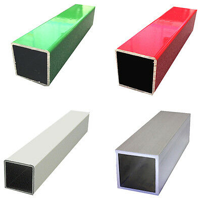 New Aluminium Alloy Square Bar Tube Table Stand - Metal Alloy Box Tubing Section