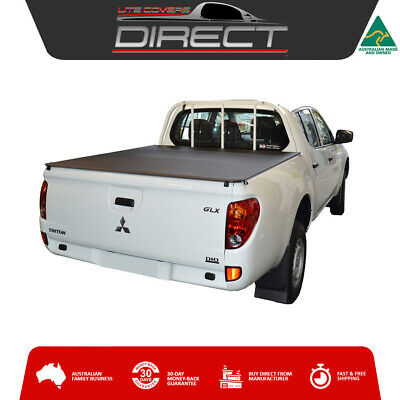 Mitsubishi MN Triton Dual Cab Ute (Oct2009-Apr2015) Tonneau Cover-fits loadrest