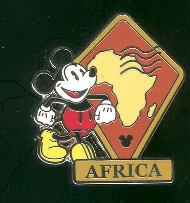 WDW 2012 Hidden Mickey Continents Stamps Africa Disney Pin 88610
