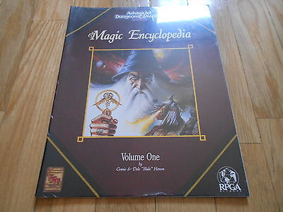 Advanced Dungeons & Dragons - The Magic Encyclopedia - TSR 9293 - juego rol RPG
