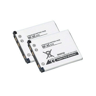 Replacement Battery Lithium Ion for Fuji Finepix XP30 Camera Models 2 pack