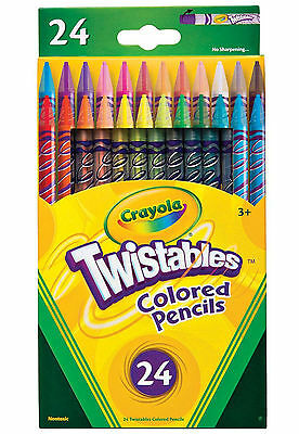 Crayola Twistables Colored Pencils-Pack of 24