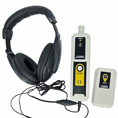 Ultrasonic Leak Detector & Transmitter 40kHz  Locates leaks in Pressure & Vacuum