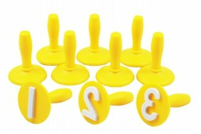 EC- Numbers 0-9 Stampers-Set of 10