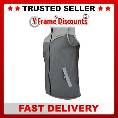 Funkier MTB Bike Cycling Gillet in Black / Grey