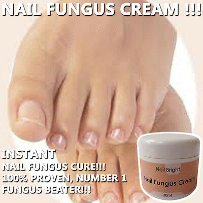 Nail Bright Nail Fungus Cream Healthy Strong Manicured Nails Works Fast !