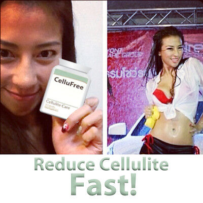 Cellufree Cellulite Pills Anti Cellulite Treatment Firming 100% Natural Herbal