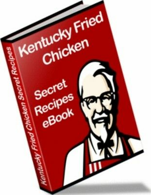 How to make delicious Kentucky Fried Chicken Like Clone Recipes (eBook-PDF file)