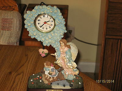 Holy Collection Angel Table Clock
