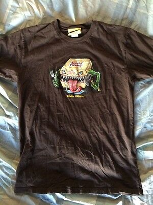 Wacky Packages Burger Thing T-Shirt Size Medium HTF