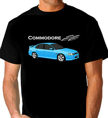 Holden  Vz   Ss Commodore  Sedan  Black Tshirt    Men's  Ladies  Kid's  Sizes