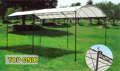 Gazebo, Marquee Carport Shade Shelter, Fabric Top Replacement, 3x4m, Waterproof