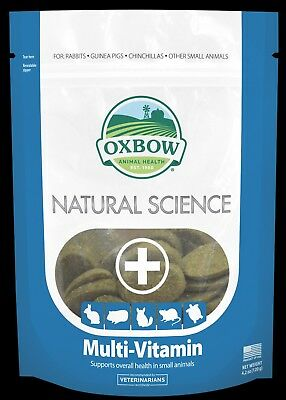 Oxbow Natural Science Multi-Vitamins for Small Animals 60 tablets