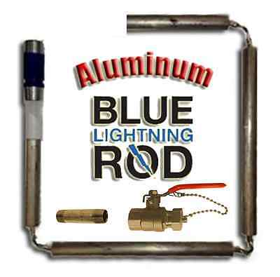 Blue Lightning Aluminum / Zinc Flexible Anode Rods, Nipple Type, Drainage Kit
