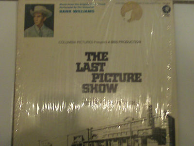 """Hank Williams """"The Last Picture Show """" 1971 MGM Record. w/shrink wrap. VG+"""