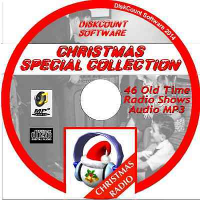 Christmas Special Selection - 46 Old Time Radio Shows - Audio MP3 CD