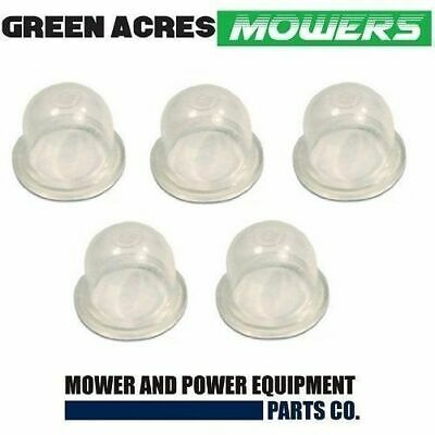 5 X Fuel Primer Bulb Cup For Walbro Chainsaw Whipper Snipper Carbs