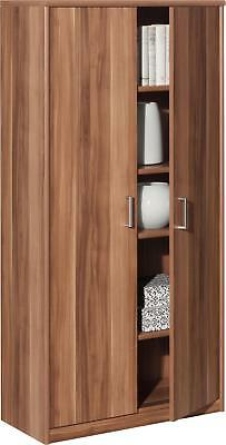 mehrzweckschrank nussbaum 4 einlegeb den schrank eur 119 00 picclick de. Black Bedroom Furniture Sets. Home Design Ideas