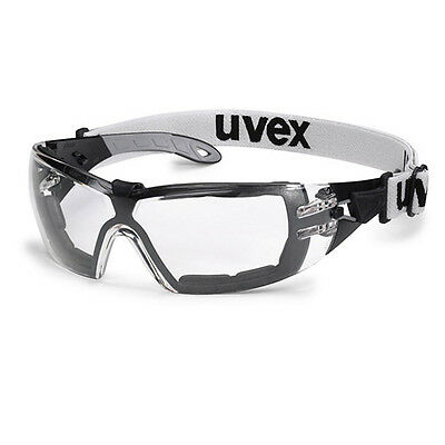 UVEX Pheos GUARD SV Extreme 9192-180 Safety Glasses Spectacles Strap CLEAR Lens