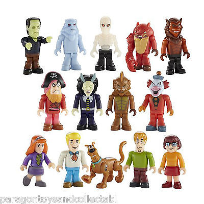 SCOOBY DOO CHARACTER BUILDING MICRO FIGURE SERIES 1 - Choice of 14 Figures