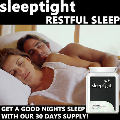 Sleep Tight Sleeping Pills Tablets Anti Insomniac Extra Strong Fast Working !