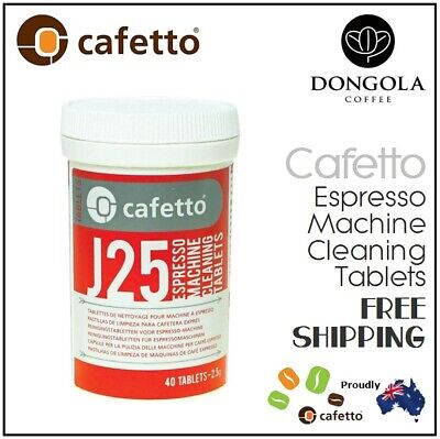 40 CAFETTO J25 Super Automatic Espresso Coffee Machine Cleaner Cleaning Tablets