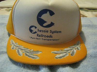 Chessie System Railroad Embroidered Cap by Civic Supply Company