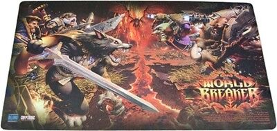 World Of Warcraft Wow Tcg : Worldbreaker Epic Playmat Brand New