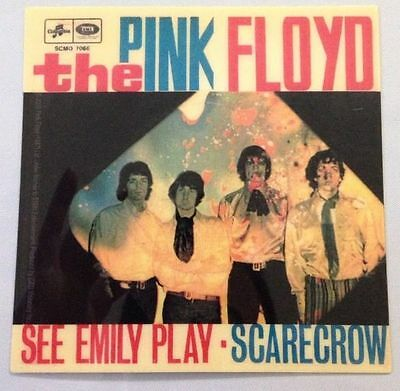 "Pink Floyd Emily Sticker Brand New 4""x4"""