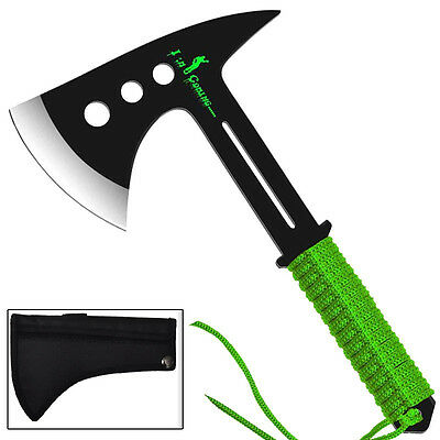 Zombie Reckoning Apocalypse Stainless Steel Full Tang Throwing Target  Axe