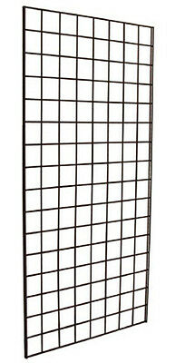 FAST SHIPPING! 3 NEW 2' X 6'  Grid Gridwall Store Display Panels BLACK