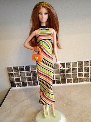 Barbie Doll In Clothes And Shoes Lot (Model Muse, Barbie Basic)