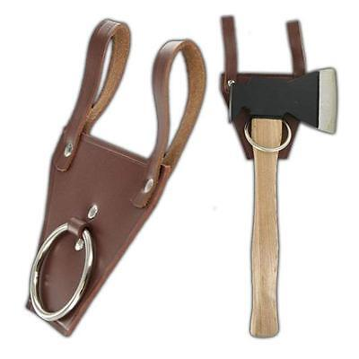 Ringleader Real Leather Medieval Renaissance Universal Axe Frog