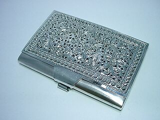 Sterling Silver Card Case Handmade