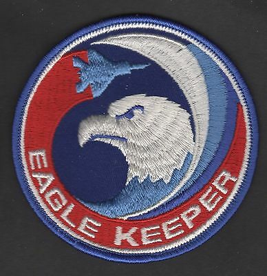 USAF F-15 Eagle Keeper Patch McDonnell Douglas Boeing St Louis
