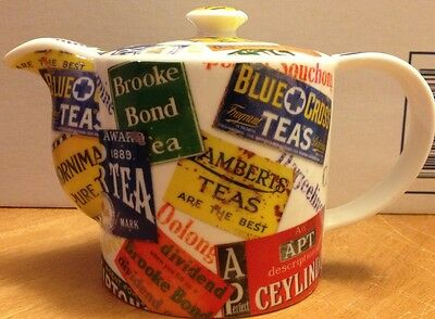 PAUL CARDEW WORLD TEA SERIES Ceramic Teapot 2008 RARE!
